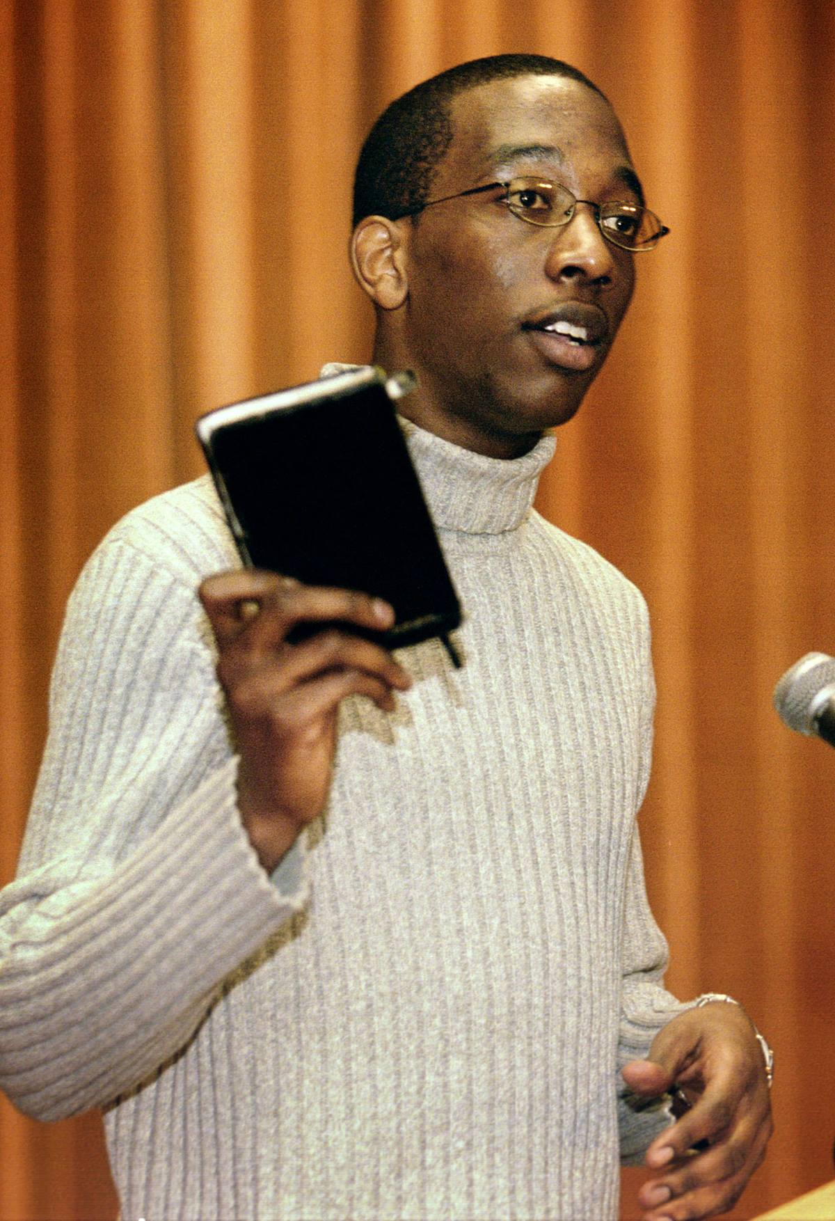 Jay Williams is an advocate for human rights in Sudan. UMNS photo by Mike DuBose