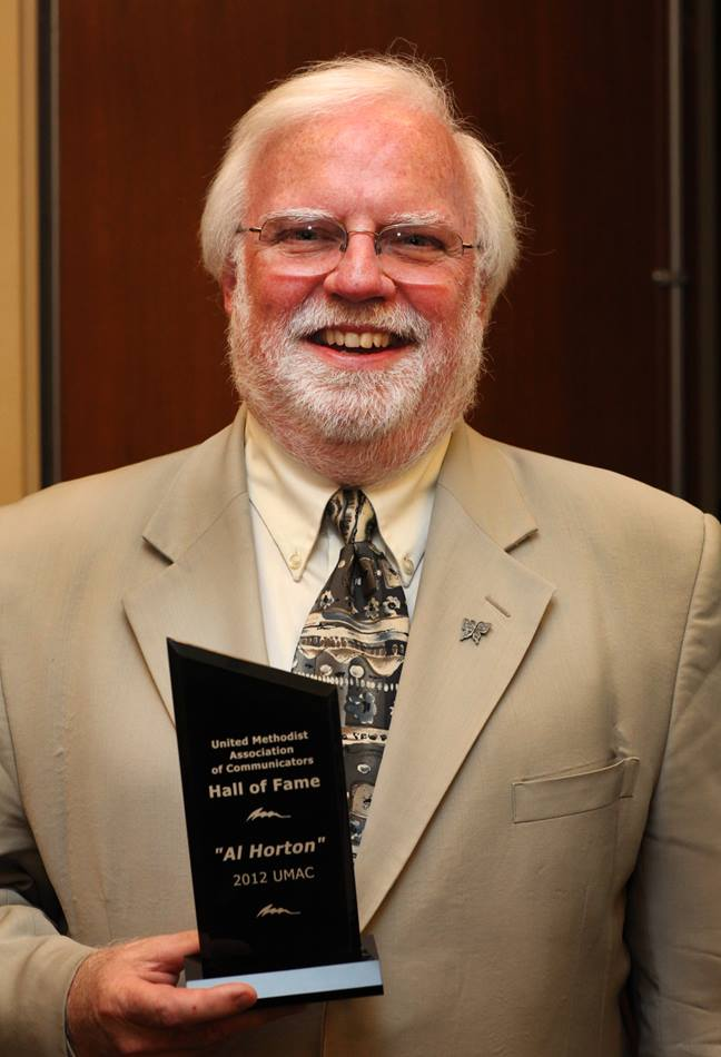 The Rev. Al Horton was inducted into the United Methodist Communicators Hall of Fame.