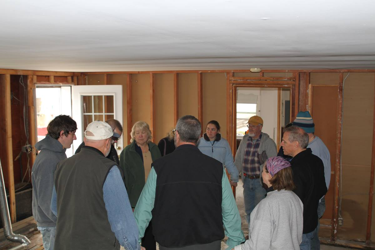 Thousands of Hurricane Sandy survivors have seen the church in action during the last month. Photo by Sushil Bhujbal.