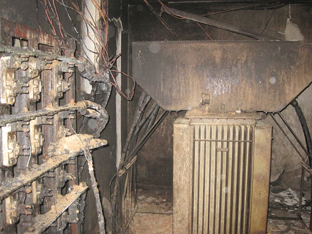 The cost of repairs and to replace lost contents from the fire is estimated at $40,000.