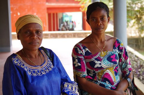 The Rev. Véronique Mwayuma and Adolphine Pataule are united against gender violence.