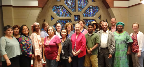 The board of the General Commission on the Status and Role of Women met Sept. 19-21 in Chicago.