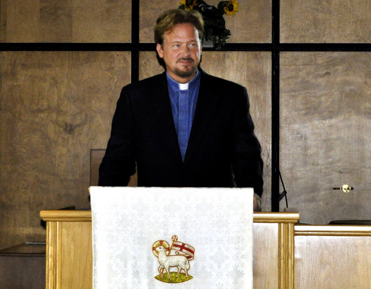 The Rev. Frank Schaefer faces a church trial on Nov. 18 for officiating at the 2007 same-sex wedding of his son. He is pastor of Zion United Methodist Church of Iona in Lebanon, Pa. Photo courtesy of Frank Schaefer.