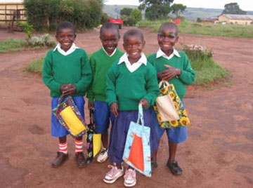 Oursler has established a school for the children in the orphanage.