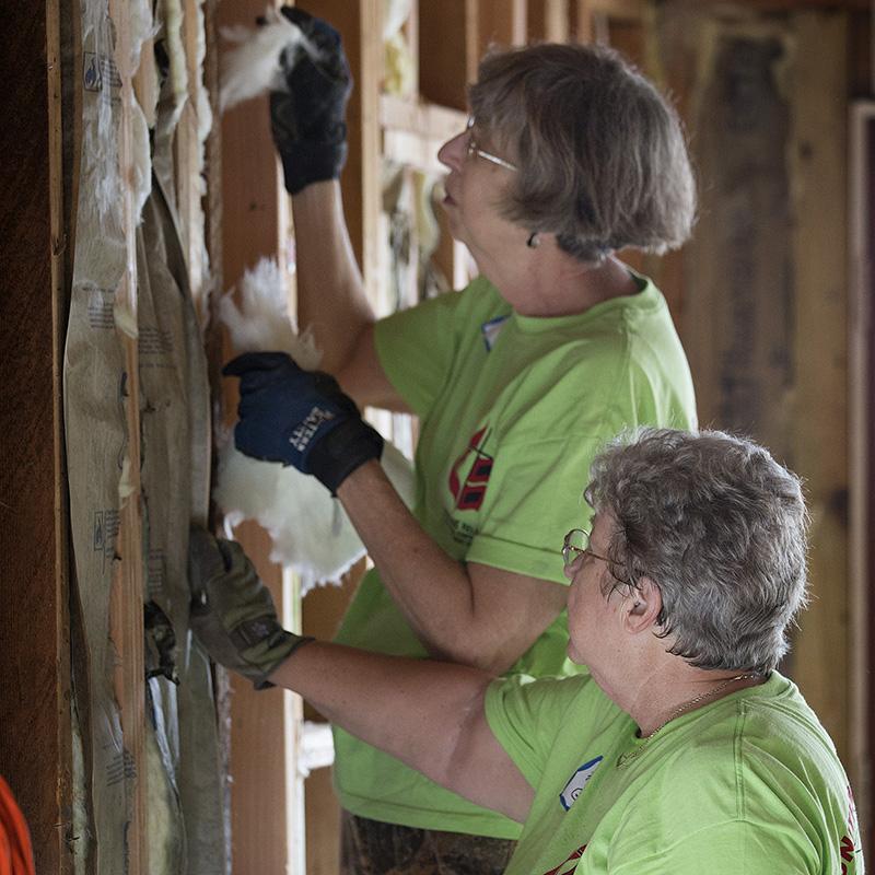 Year 1: Sandy recovery — 'Love Methodist volunteers'