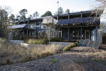 The Duke Smart Home Program, sponsored by The Home Depot, encompasses a 6,000 sq. ft. residential dorm and research laboratory and is operated by Duke's Pratt School of Engineering.