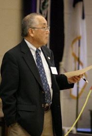 Donald Hayashi <br/> A UMNS photo by Kathy Gilbert.