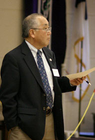 Donald Hayashi <br/> A UMNS photo by Kathy Gilbert.
