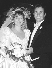 Krickitt and Kim Carpenter's first wedding was Sept. 18, 1993.