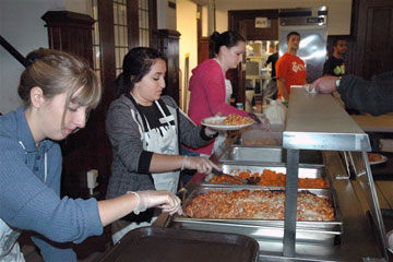 The Upper New York Conference's effort to feed a million people in a year was successful by providing food to more than 1.8 million by May 31, 2012.  A web-only photo courtesy of the Upper New York Conference.