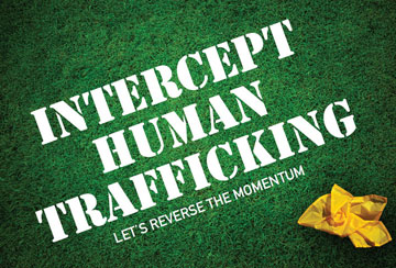 Graphic from Intercept the Traffickers campaign courtesy of United Methodist Women.