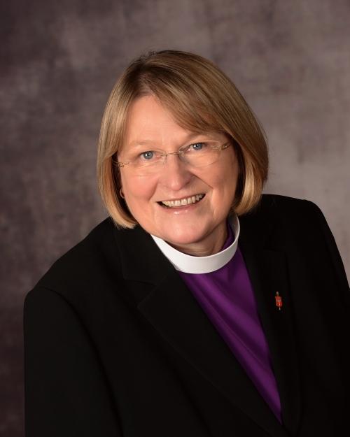 United Methodist Bishop Rosemarie Wenner.