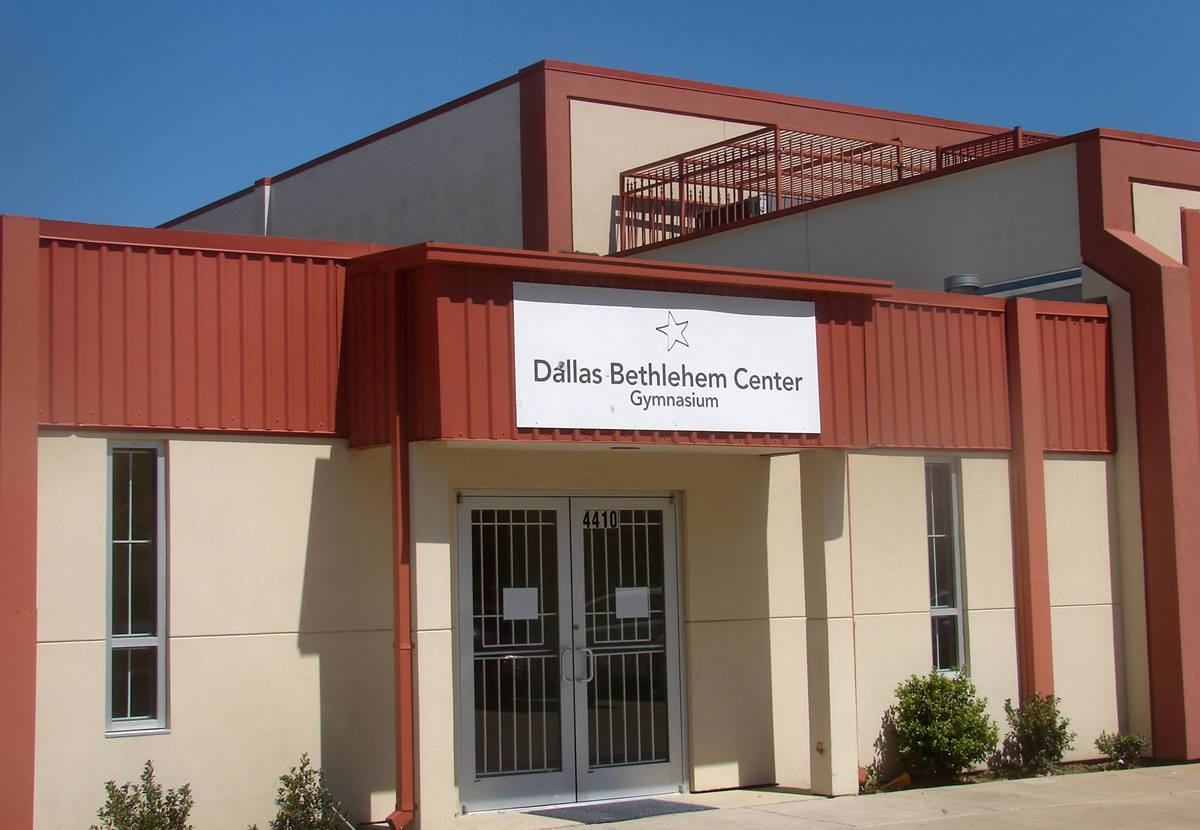 The Dallas Bethlehem Center, which reopened last year after closing in December 2011 for financial reasons, offers 16,000 sq. feet of enclosed space, including a gym. Photo by Sam Hodges, UMNS
