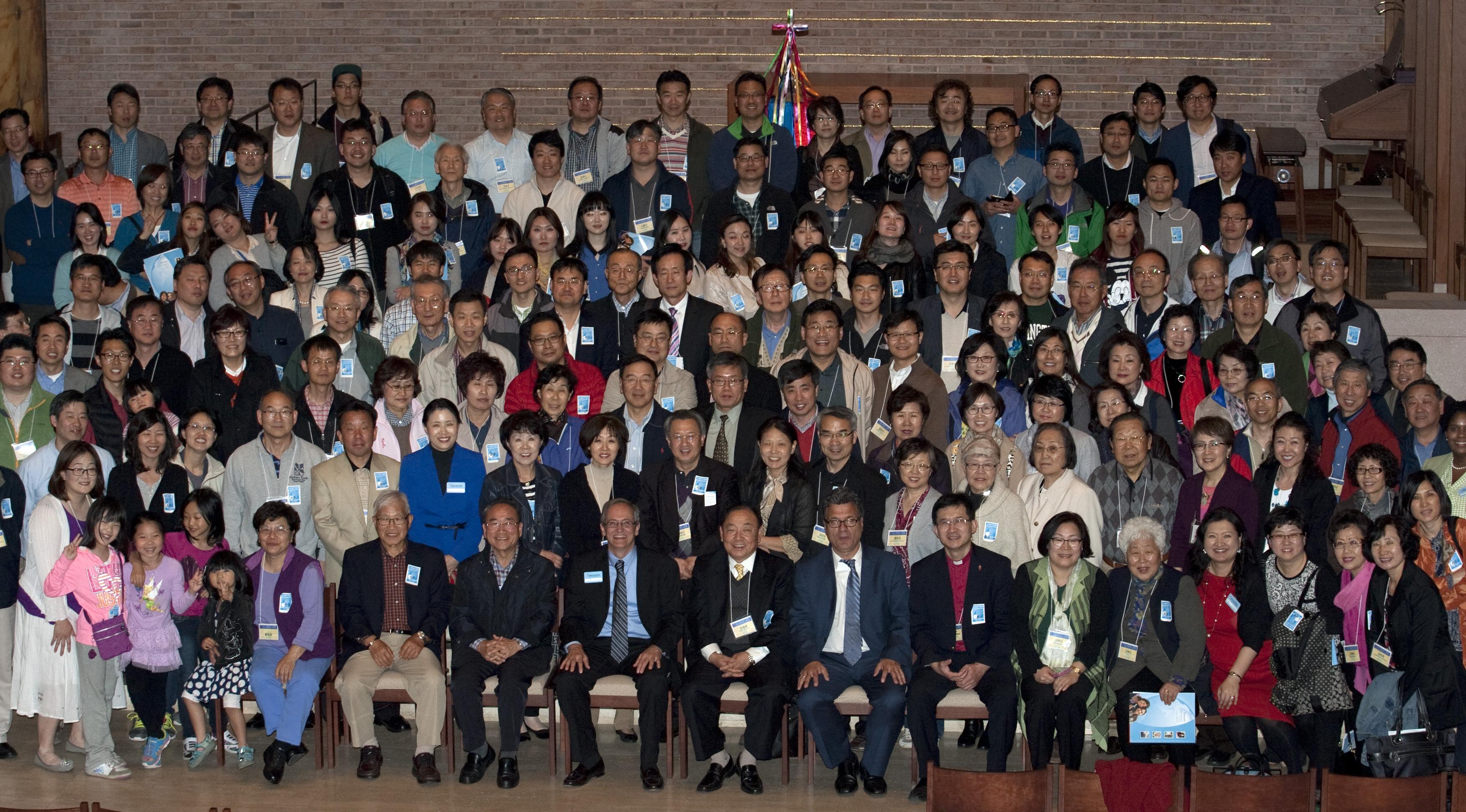 한인총회 총회세계선교부 방문 단체사진
