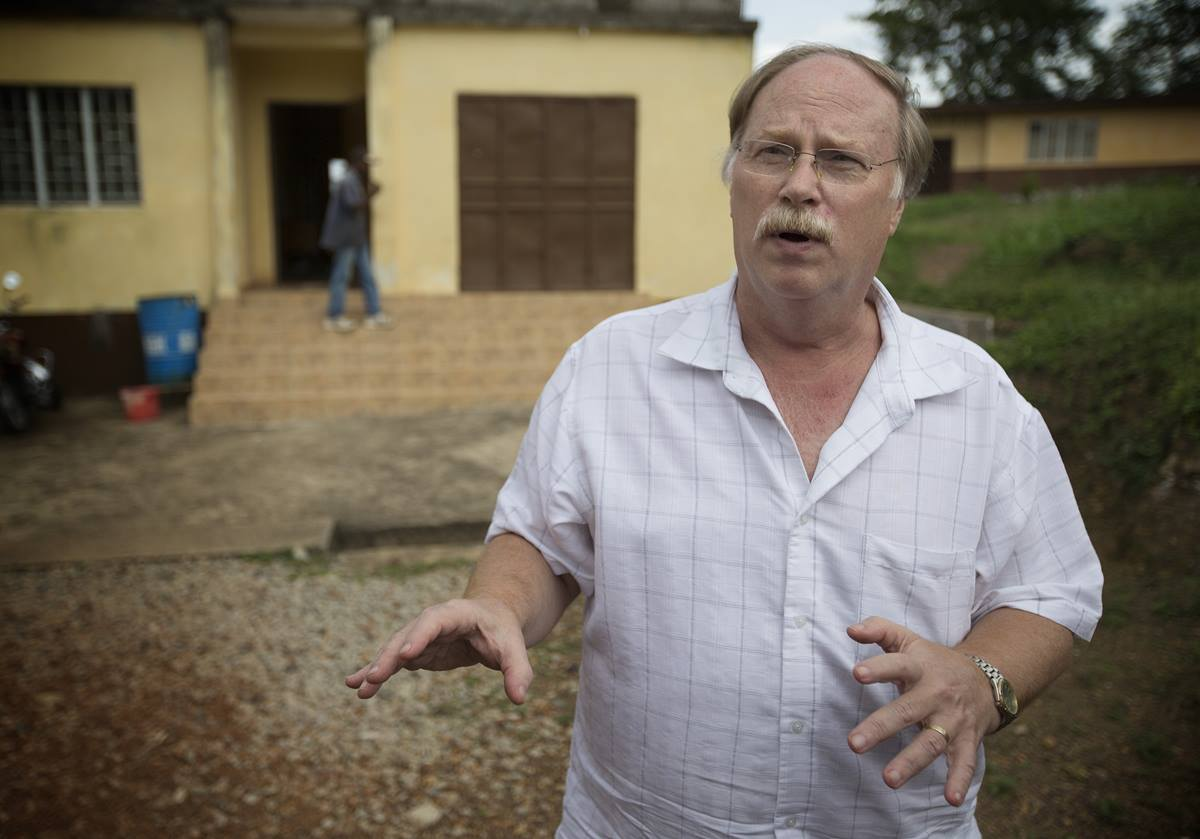 Dr. Robert Garry describes efforts to contain an outbreak of the Ebola virus in Sierra Leone. He is a professor at Tulane University School of Medicine in New Orleans, known for his research into Lassa fever.