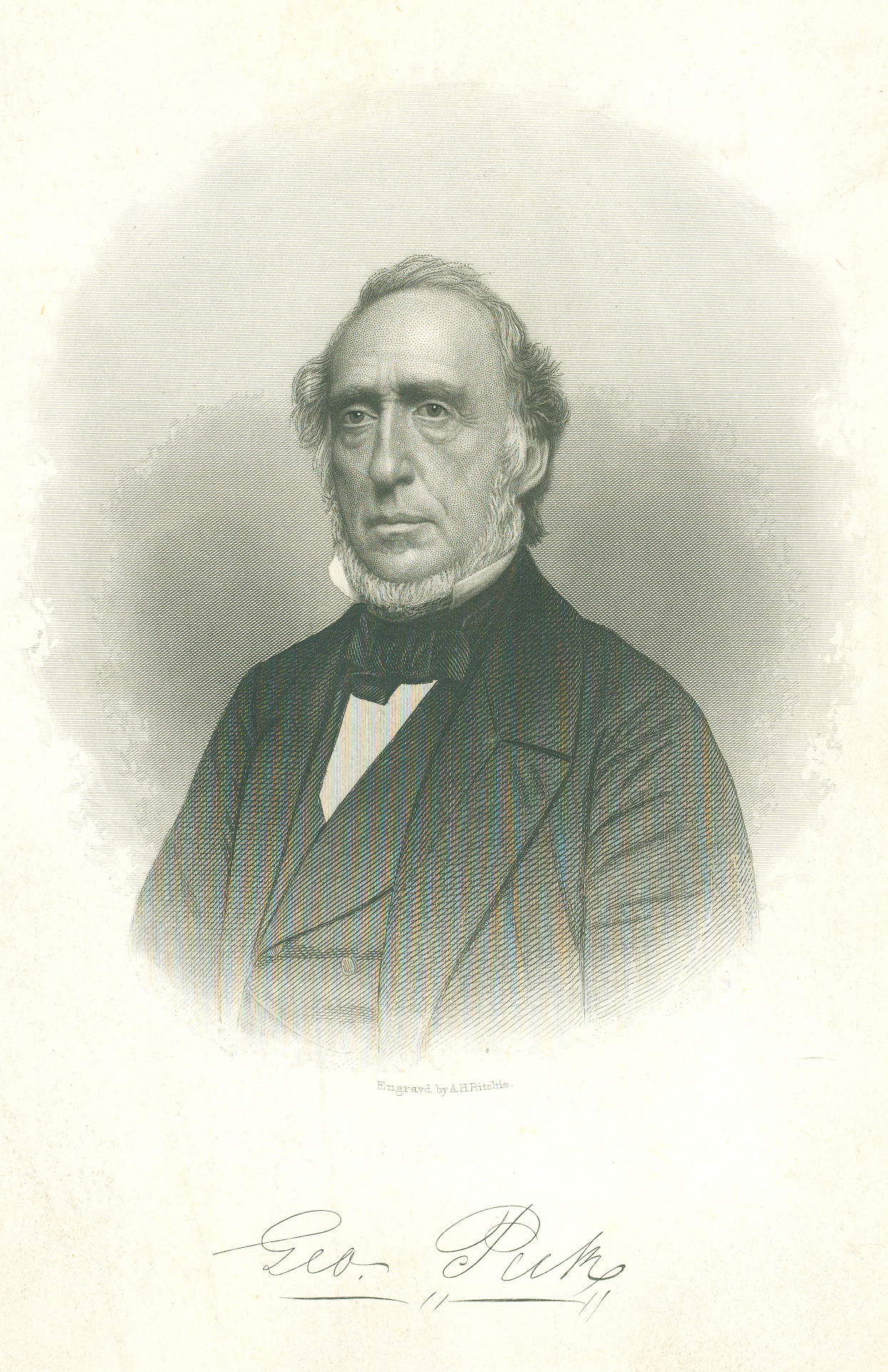 The Rev. George Peck, grandfather of author Stephen Crane, was an important clergyman, editor and author in the Methodist Episcopal Church. Photo courtesy of the United Methodist Commission on Archives and History