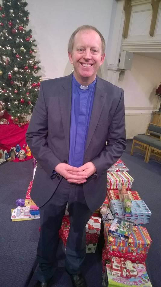 The Rev. Rob Cotton is pastor of Knutsford Methodist Church in Cheshire, England. Photo by Kathleen LaCamera/UMNS