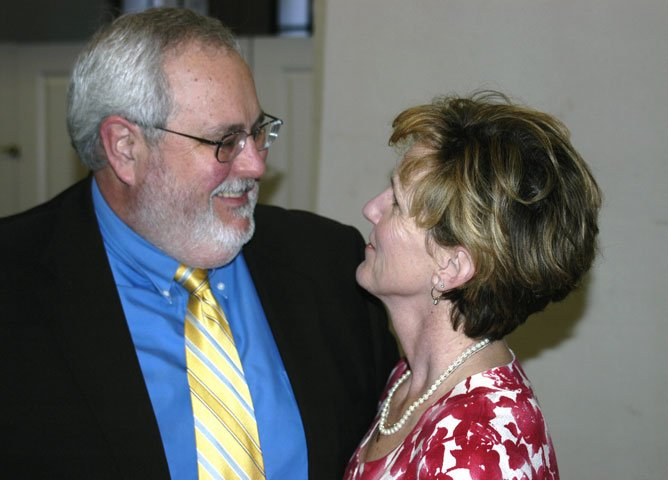 The Rev. Sam Dixon and his wife, Cindy, were deeply in love, a friend said. A UMNS file photo by the Rev. William Simpson.