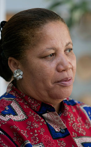 Emile Belorne says she will never forget the day the earthquake struck.