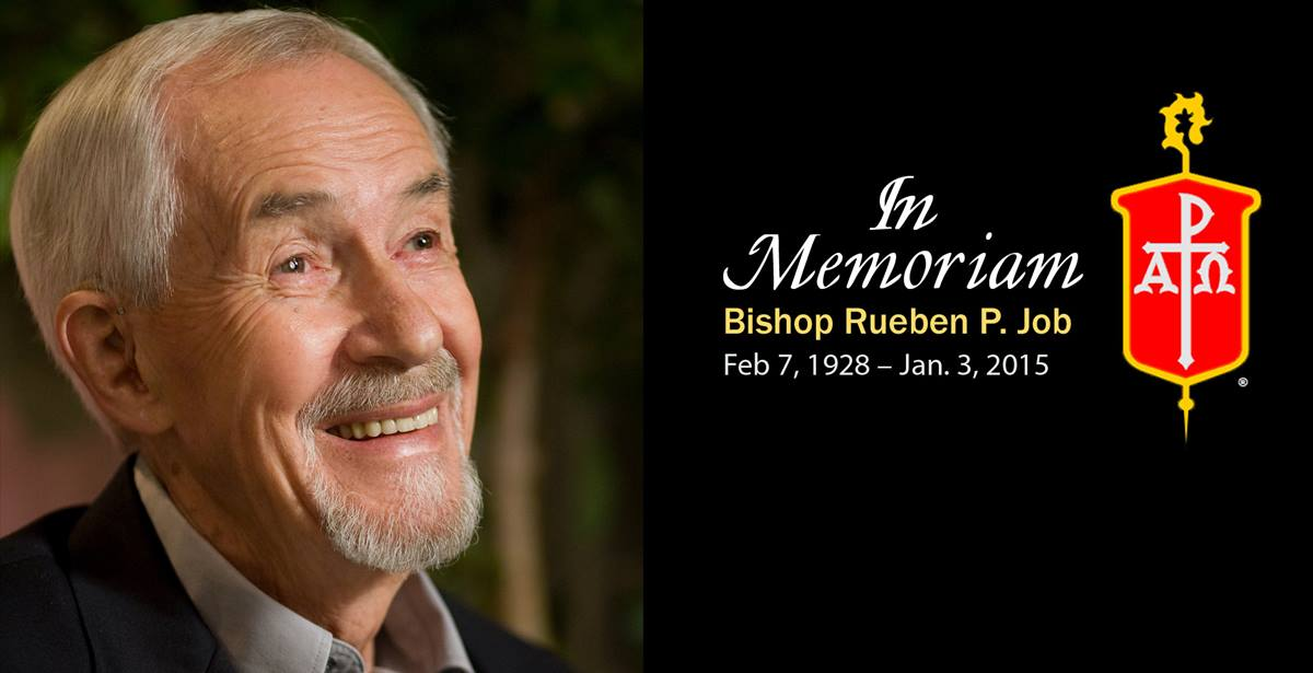 Bishop Rueben P. Job helped shape the church's understanding of Wesleyan teachings and influenced what congregants sing at worship. Photo by Mike DuBose, UMNS