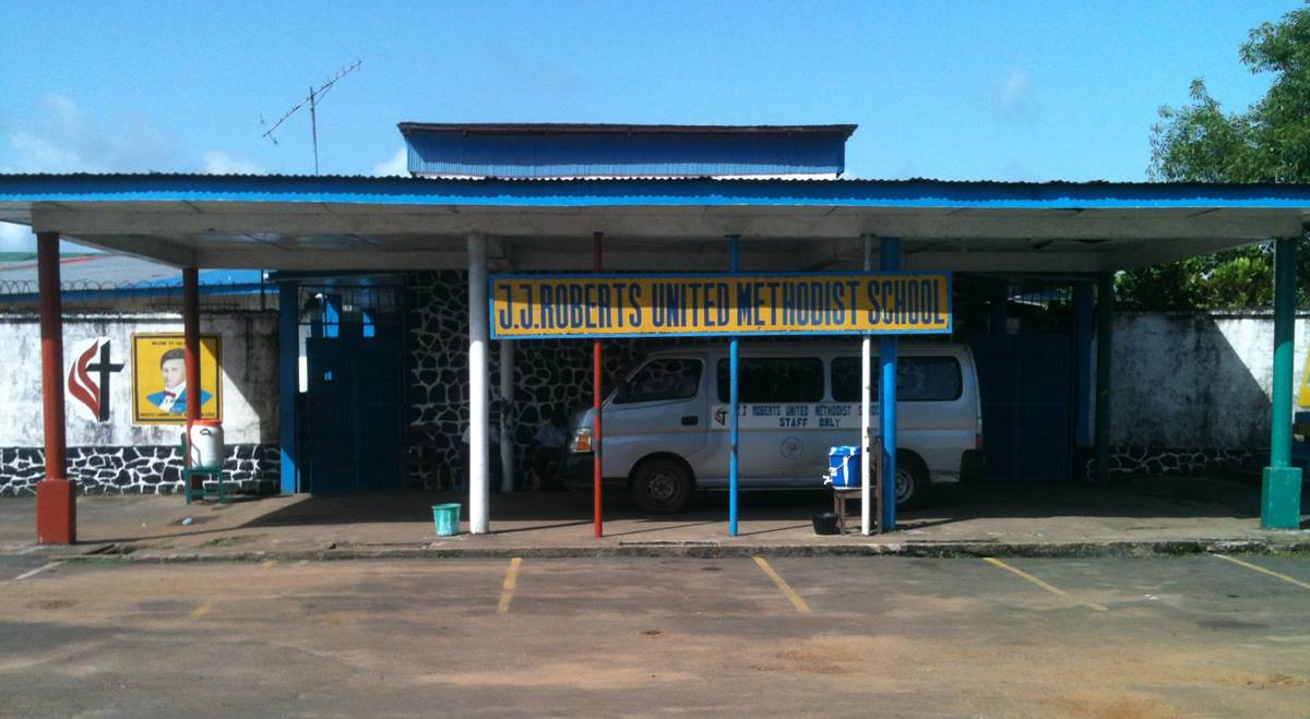 The J.J. Roberts United Methodist School has been closed since August 2014 due to the Ebola virus.