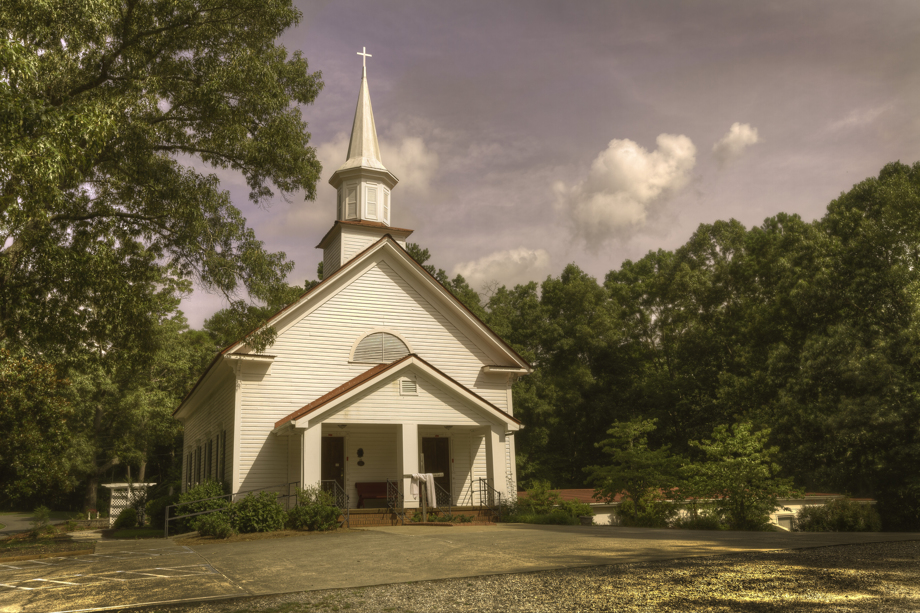 Field's Chapel United Methodist Church, in Cherokee County, Ga., has been going since about 1820. The current sanctuary had its dedication in 1899. The Rev. Sam Jones, a noted revivalist, preached the dedication sermon to a large crowd. Photo by Scott MacInnis, courtesy Historic Rural Churches of Georgia.
