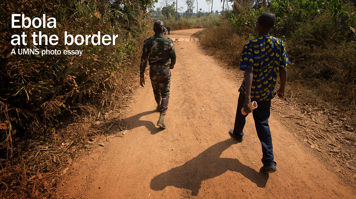 United Methodist Communications photographer Mike DuBose takes a look at efforts to prevent Ebola from crossing the border into Côte d'Ivoire in this UMNS photo essay.
