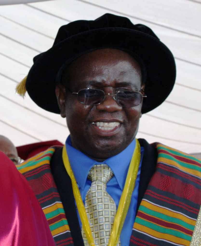 Munashe Furusa smiles after his installment as Africa University's fourth vice chancellor. Photo by Vicki Brown, UMNS