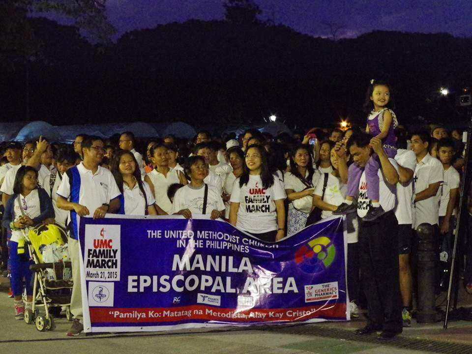 "The March 21 family march organized by the Manila episcopal area of The United Methodist Church in the Philippines was a ""force to be reckoned with,"" said Homer Ortega, chair of the event. Photo by King James X. Zaimur"
