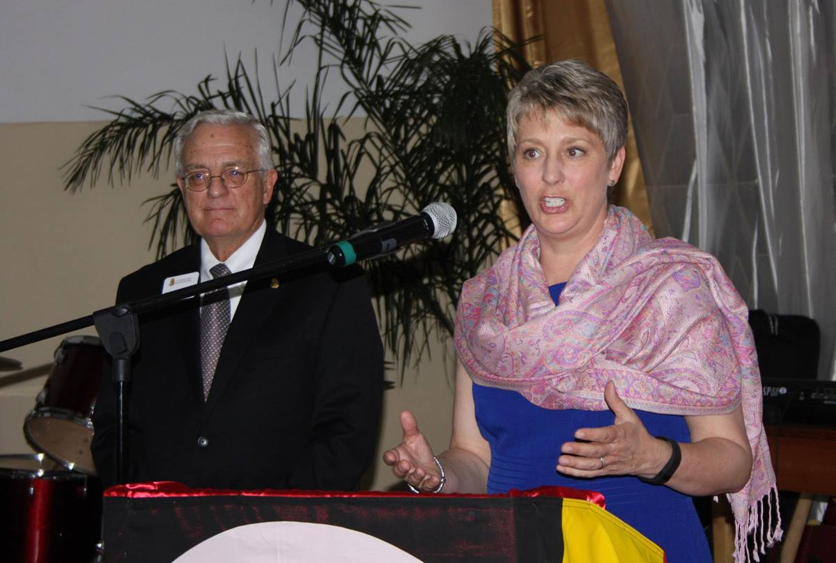 Jane Boatwright Wood,  president of the Foundation for Evangelism announces plans to raise funds for the John Wesley Kurewa Chair, an E. Stanley Jones Professor of Evangelism in partnership with Africa University.