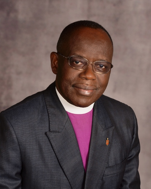 Bishop Benjamin Boni. An official portrait courtesy of the Council of Bishops.