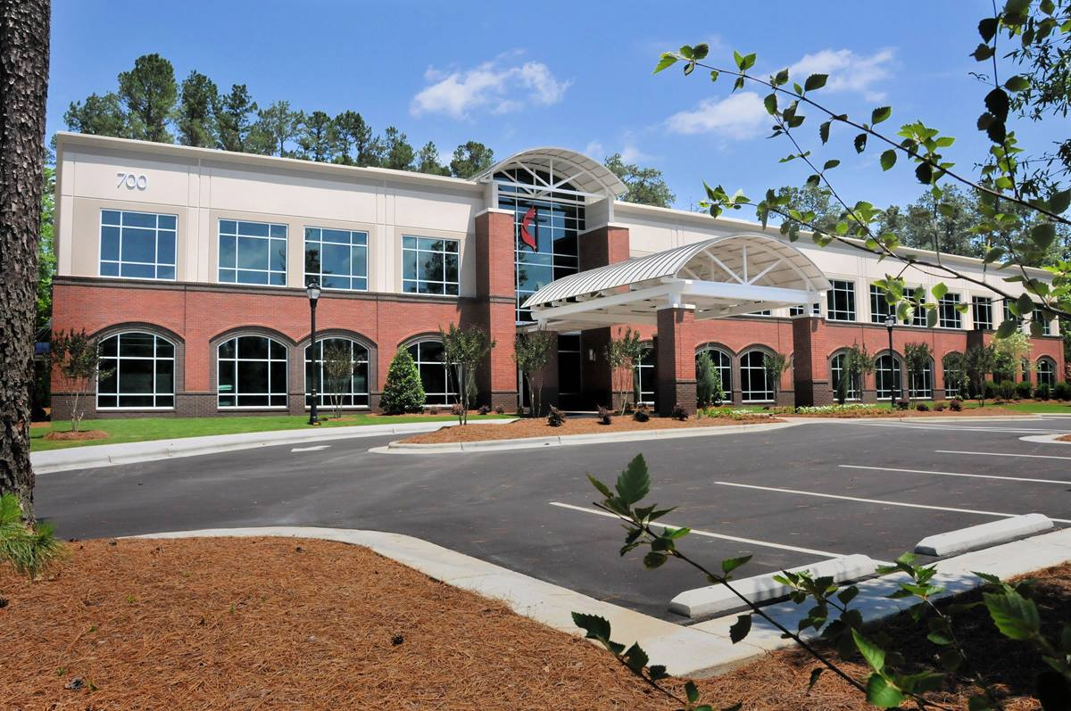Every staff office has a window in the North Carolina Conference's energy efficient, LEED-certified headquarters in Garner, N.C.