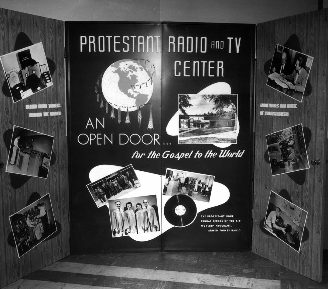 The Protestant Hour Radio and Television center was the recording home to The Protestant Hour beginning in the 1950s. Photo courtesy of The United Methodist Commission on Archives and History