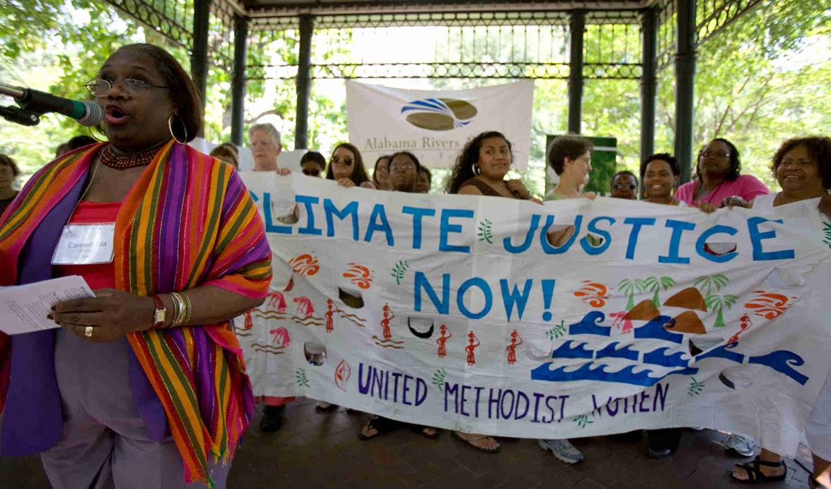Climate change was one of the topics addressed by United Methodism Women during the 2011 National Seminar in Birmingham, Ala. Social action issues highlighting the 2015 seminar in Chicago include mass incarceration.