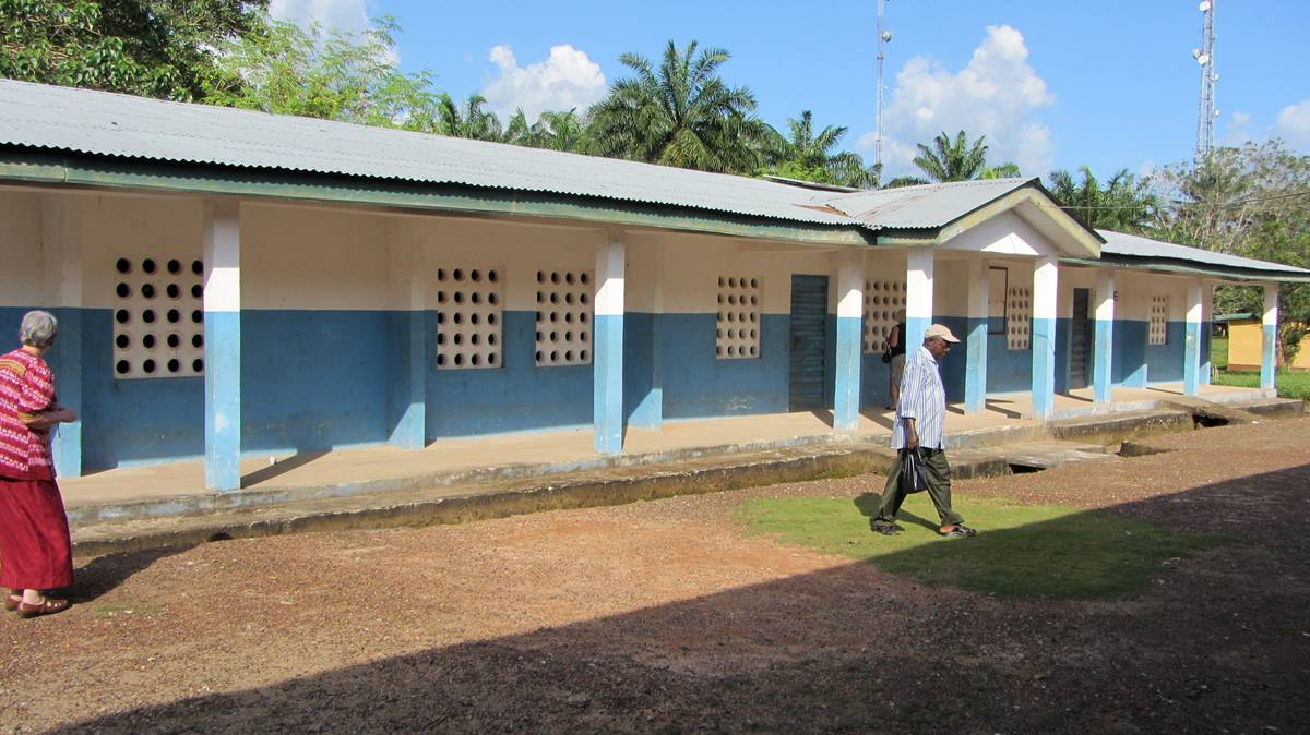 """This building is being considered for academic space for Taidama Enterprise Academy located in Sierra Leone near Njala University. For nearly 30 years, Operation Classroom's primary mission has been """"To Partner with the United Methodist Church in Liberia and Sierra Leone to Improve Education."""" Photo courtesy of Bob Coolman"""