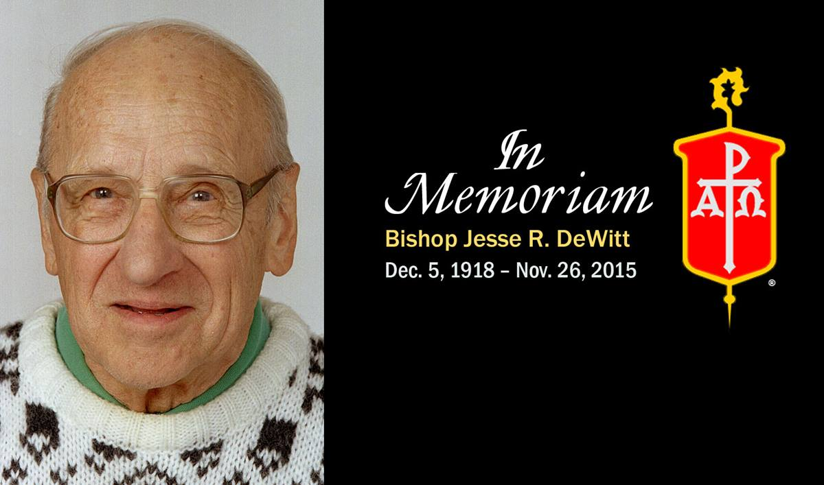 United Methodist Bishop Jesse R. DeWitt. A photo by Mike DuBose, UMNS