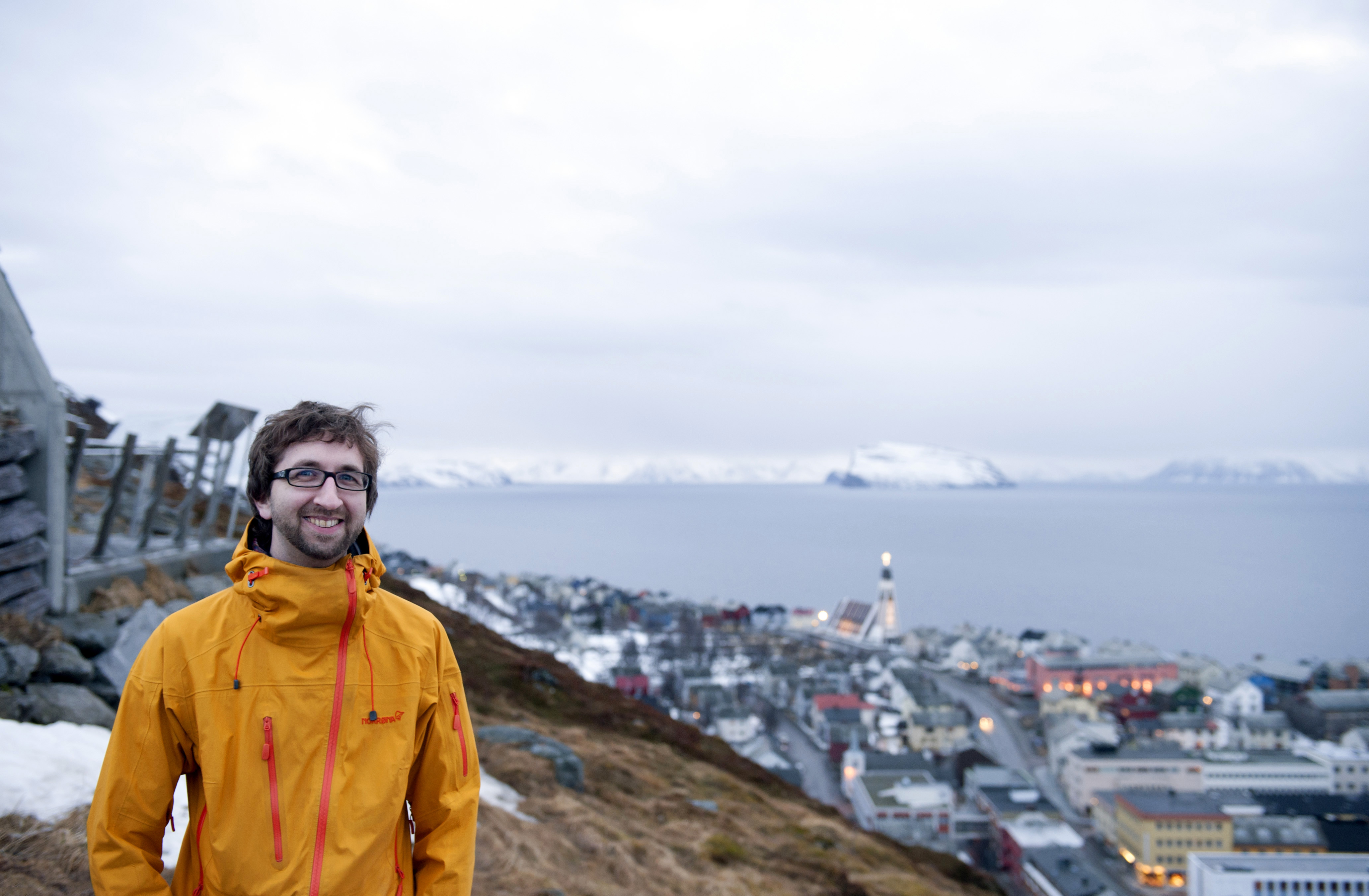 The Rev. Per Bradley serves the United Methodist church in Hammerfest, Norway. Photo by Karl Anders Ellingsen