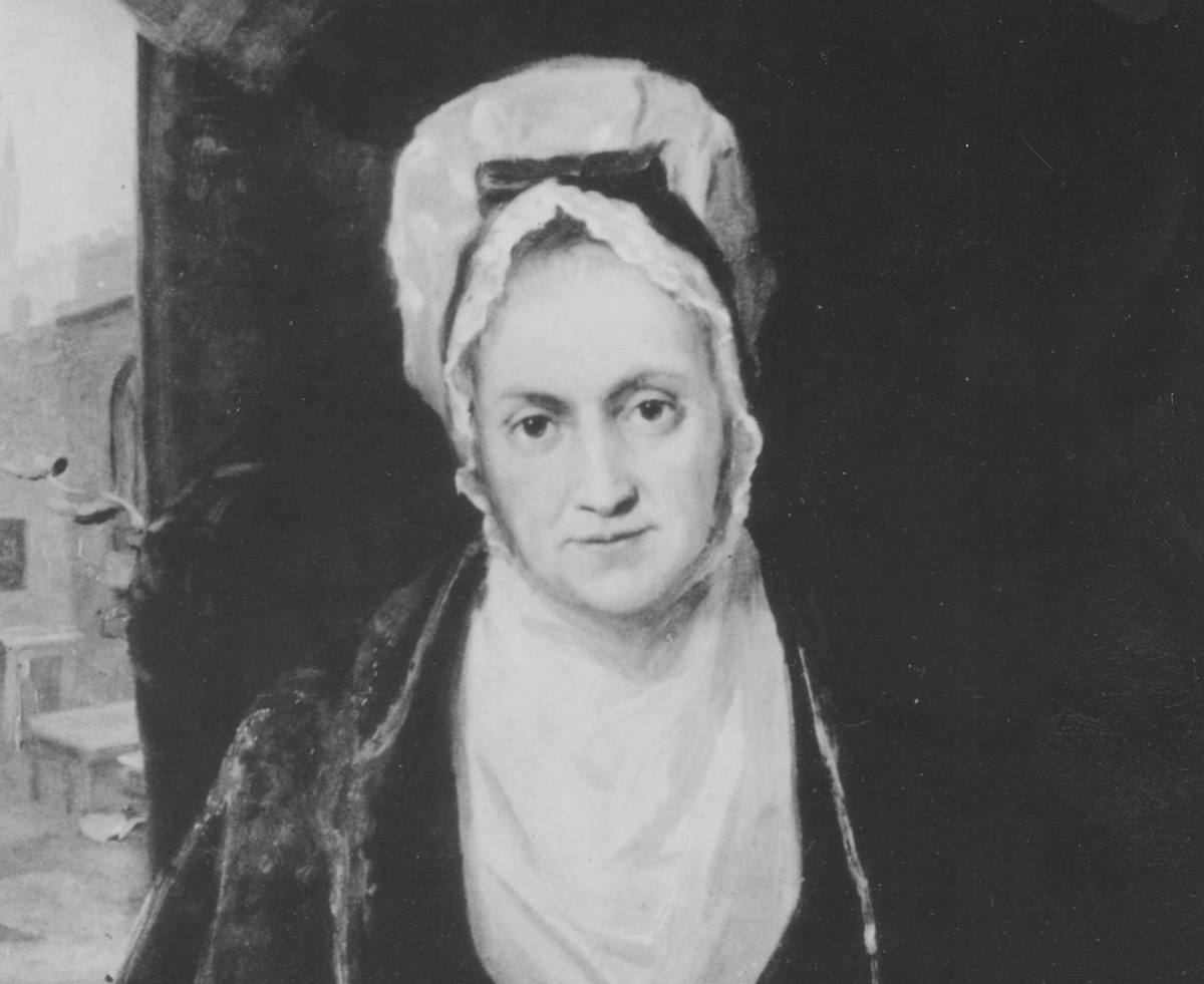 Image portrays Susanna Wesley, mother of John and Charles. Courtesy of United Methodist General Commission on Archives and History.