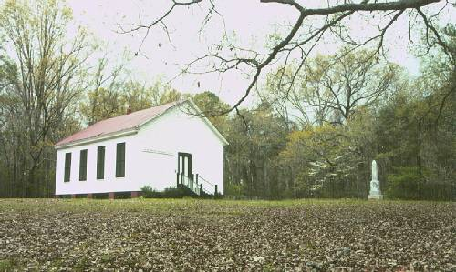 Pearl River Church was built in 1833 as a school near the Natchez Trace in Madison County, Miss., and school and church shared the facility.