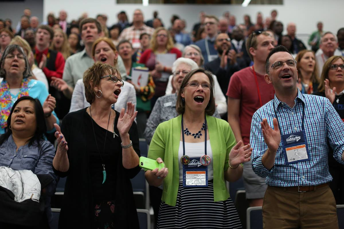 This week the United Methodist Church has tried to model an approach to disagreement that the U.S. political system would do well to emulate. Photo by Kathleen Barry, United Methodist Communications.