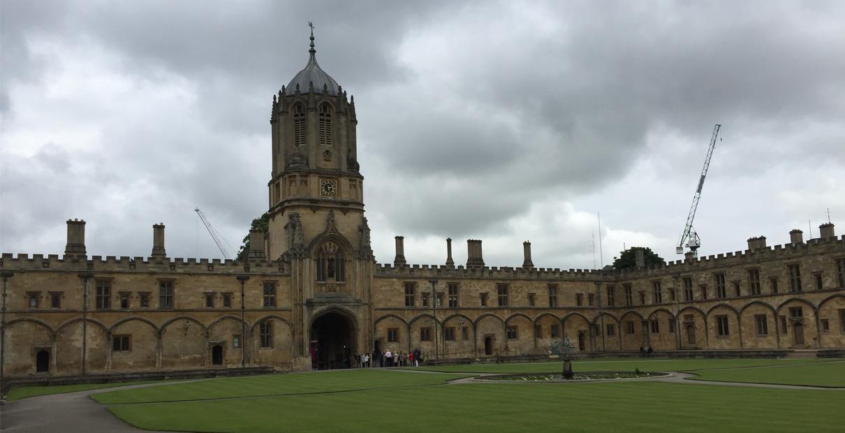 John & Charles Wesley are alumni of Christ Church in Oxford. Photo by Joe Iovino, United Methodist Communications.