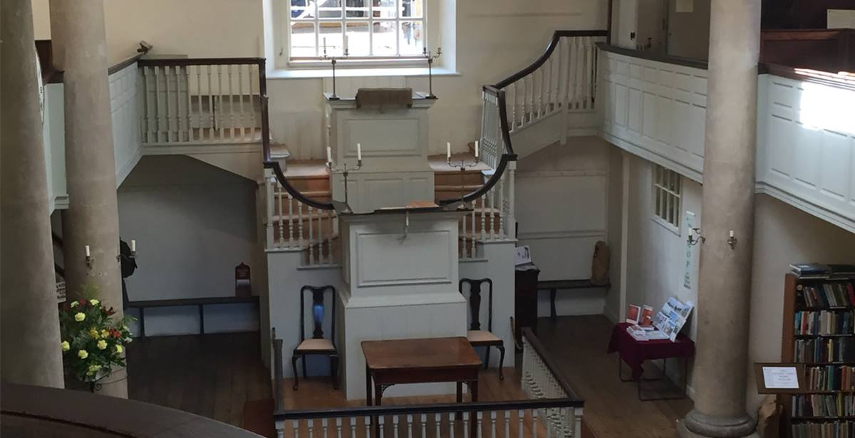 John & Charles Wesley and the early Methodists built The New Room to house their meetings. Photo by Joe Iovino, United Methodist Communications.