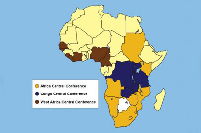 Gold In Africa Map Africans look at changing the church's map | United Methodist News
