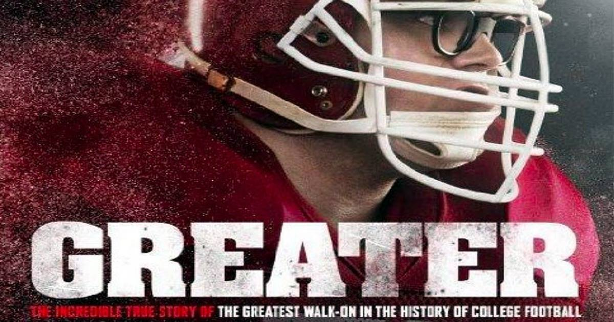 """The film """"Greater"""" explores the life of football player Brandon Burlesworth and how to keep one's faith when bad things happen to good people. Photo courtesy of Greater Productions."""
