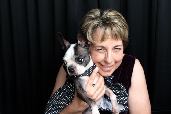 """The Rev. Delana Taylor McNac, a deacon and veterinarian, founded a """"Pet Peace of Mind"""" program to help hospice patients make plans for their animals' continuing care. Photo courtesy of McNac"""