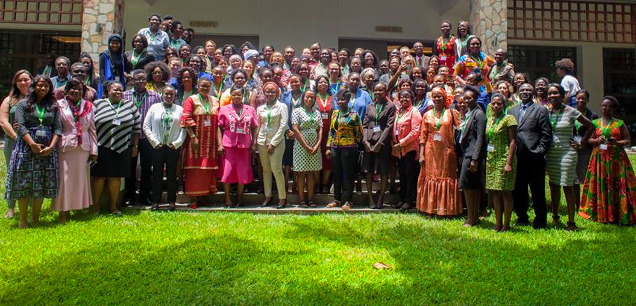 """The African Summit on Women and Girls in Technology drew nearly 150 digital equality advocates from across Africa and the world to identify ways to narrow the """"digital divide"""" between African men and women. Photo by Priscilla Muzerengwa."""