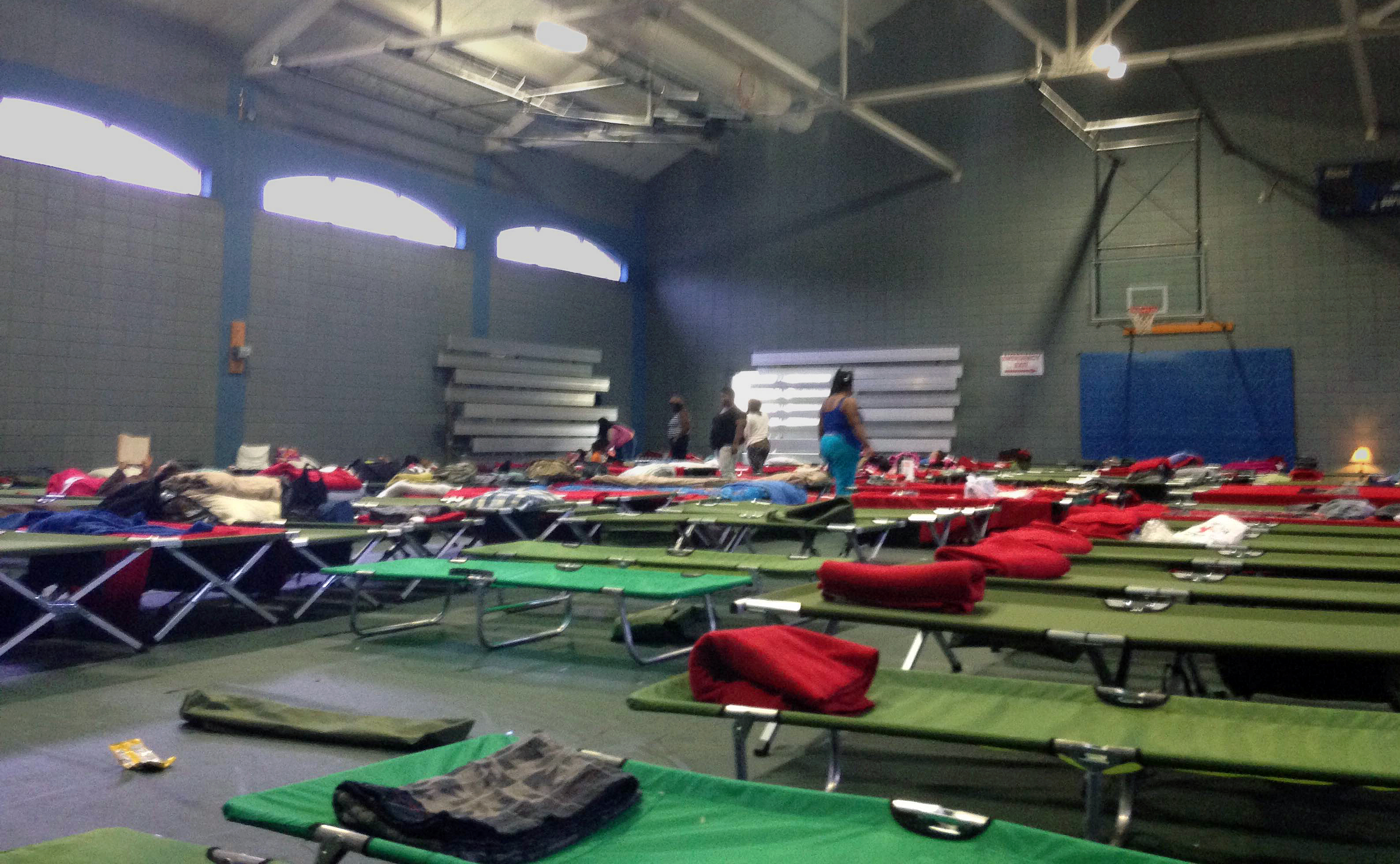 Trinity on the Hill United Methodist Church in Augusta, Ga., sheltered evacuees.