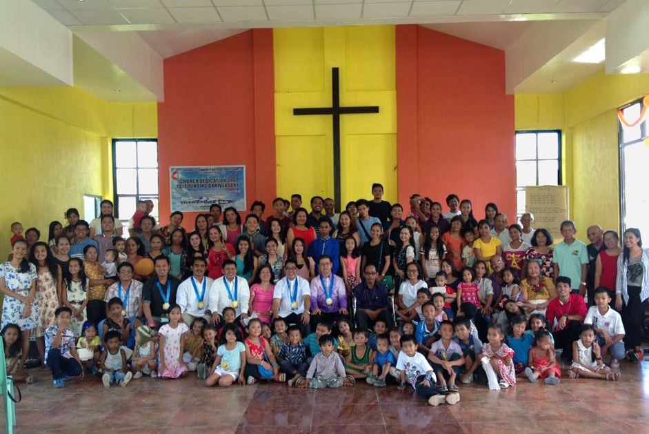 Light and Life Community United Methodist Church was rebuilt after being destroyed by Typhoon Haiyan in 2013. Photo courtesy of Bishop Ciriaco Francisco.