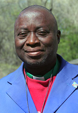Missionary Onema Ombaku Lamoto served as financial officer for the General Board of Global Ministries in Nigeria. Photo by Chris Tricomi, courtesy of Global Ministries