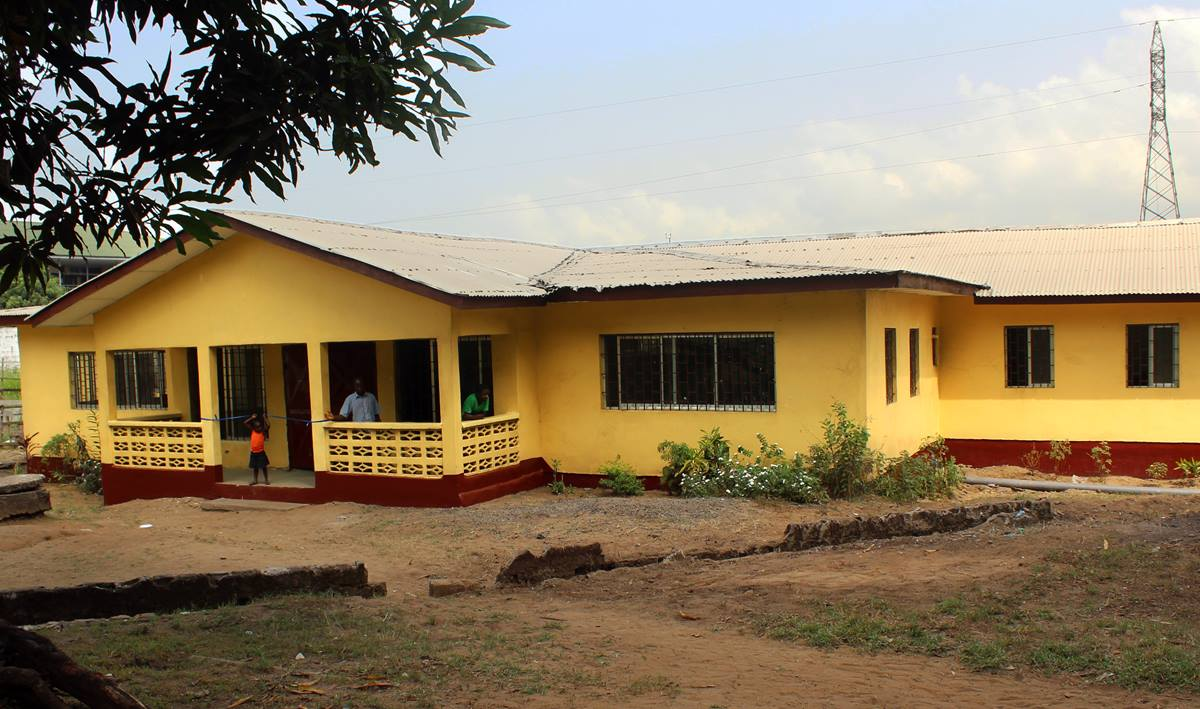 United Methodist Women in Liberia dedicated a women's dormitory that will provide free housing for students. The dormitory, located in the compound of The United Methodist Church in Monrovia, will house 40 young women when it becomes operational in September 2017. Photo by Julu Swen, UMNS.